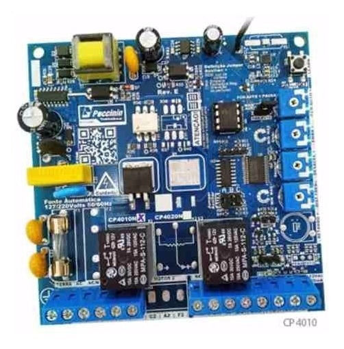 Central Eletrônica Cp4010f Para Motores Monofásicos Até 1/2