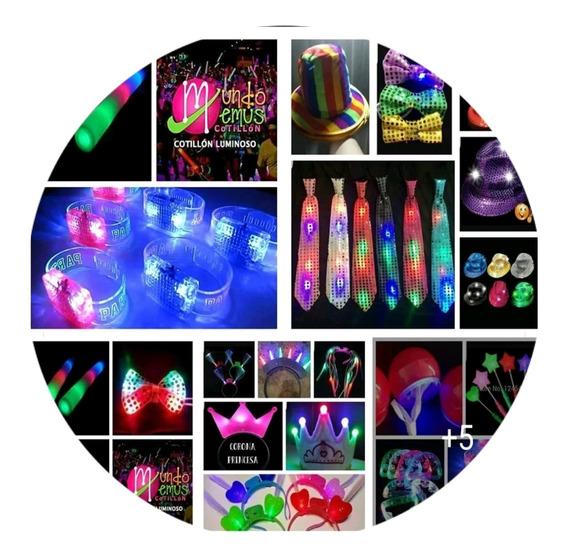 Combo Cotillón Luminoso Led/fluor 415 Art. 200 Per C/ Regalo