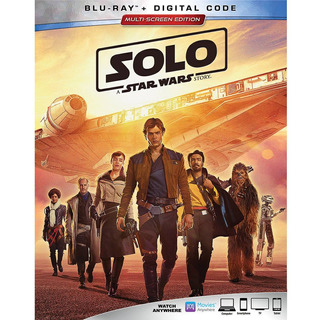 Solo: A Star Wars Story Blu-ray + Digital Hd