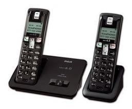 Set De 2 Telefonos Inalambricos Rca - Dect 6.0 2101-2bkga