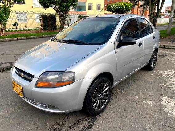 Chevrolet Aveo Ls Mt1400cc Plata Escuna Aa Ab Dh