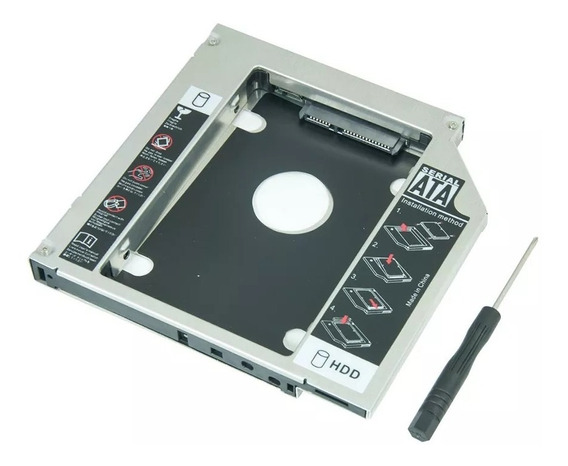 Adaptador Caddy Dvd P Hd Ou Ssd - Apple Mac Mini A1347 2010