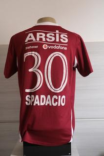 Fantástica E Única Camisa Jogo Rapid Bucareste #30 Spadacio