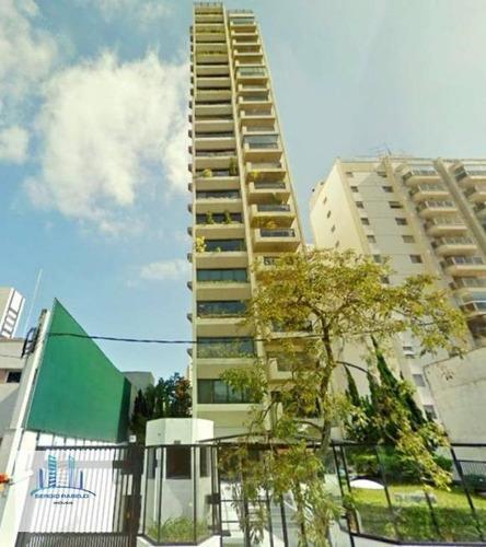 Imagem 1 de 21 de Apartamento À Venda, 180 M² Por R$ 2.950.000,00 - Vila Nova Conceição - São Paulo/sp - Ap3786
