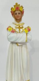 Imagem Nossa Senhora Salette 20cm Em Resina Importada