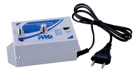 Amplificador Tv Digital 30db Pqal-3000 Vfh/uhf Proeletronic