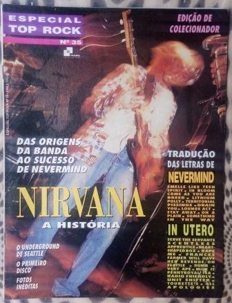 Revista - Top Rock Especial Nirvana
