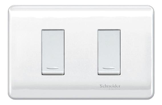 Interruptor Conmutable Doble Genesis 16 A 250 V Blanco