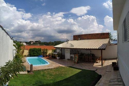 Casa 3 Dormitórios À Venda, Reformada, Piscina E Churrasqueira. Jardim Indianópolis - Campinas/sp - Ca14782