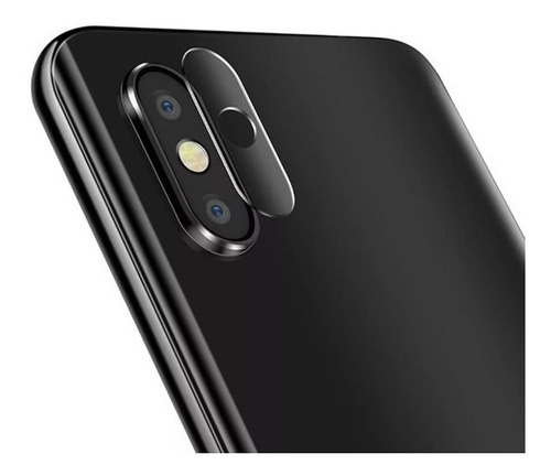 Vidrio Templado Lente Camara Xiaomi Mi 8 Flexi Glass Hd Glas