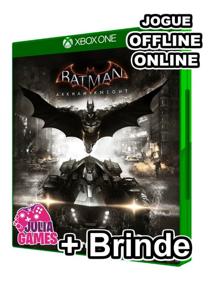 Batman Arkham Knight Xbox One Midia Digital + Brinde
