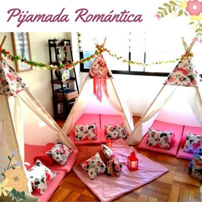Arriendo Pijamadas Tipi, Pijamaparty, Pijamadas Santiago