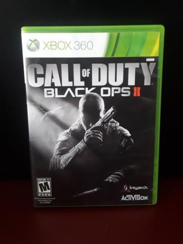 Imagem 1 de 4 de Call Of Duty Black Ops 2 Xbox 360 Mídia Física Frete Grátis