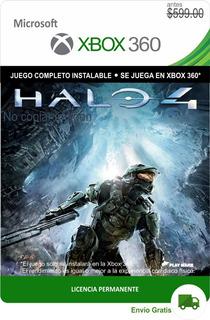 Halo 4 Xbox 360 -- Permanente --