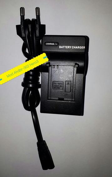 Carregador De Bateria Cameras Ahdbt-302 Ahdbt-301 Vai Cabo