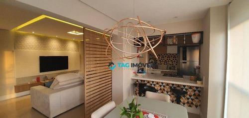 Imagem 1 de 19 de Apartamento À Venda, 80 M² Por R$ 955.000 - Cambuí - Campinas/sp - Ap2518