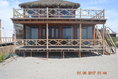 Casa De Playa Estreno Primera Fila Condominio Privado