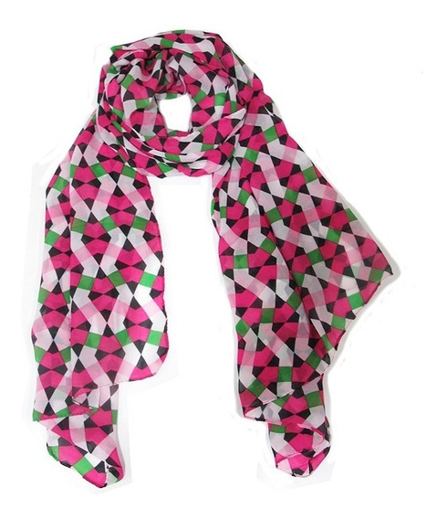 Pashmina Modelo Triangulos Fight For Your Right