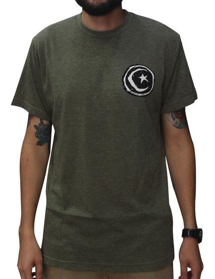 Camiseta Foundation Star & Moon Verde Escuro