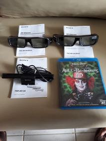 Óculos + Transmissor 3d Sony Tdg-br100 + Dvd 3d