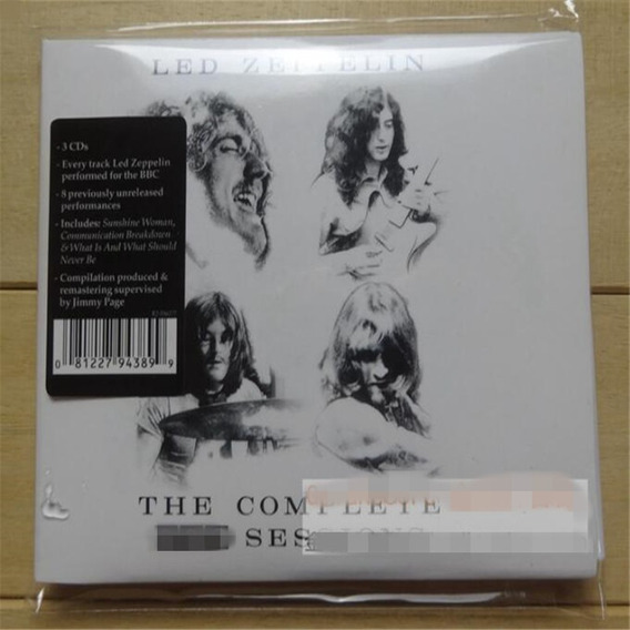 Led Zeppelin - The Complete Bbc Sessions 2016 3cd