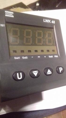 Controlador Temperatura Digital Coel  Lwk48  Phcorrd