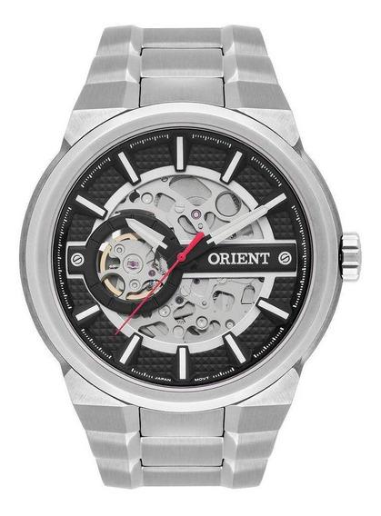 Relógio Orient Masculino Esqueleto Automático Nh7ss002
