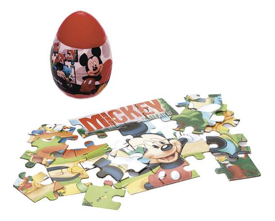 Rompecabezas Huevito Mickey Mouse 24pzas Krjj Fuller