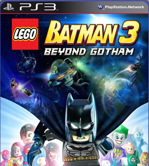 Lego Batman 3 Dublado - Psn Ps3 Comprar