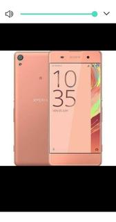 Smartphone Sony Xperia Xa Rosê Com 16gb, Dual Chip, Tela De