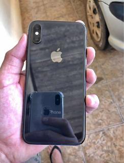 iPhone X 64gb Black Jet Com Todos Acessórios