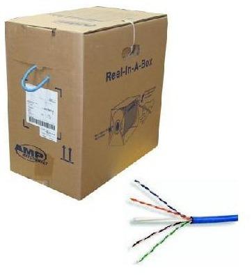 Bobina Cable Utp Cat6 Marca Amp 100% Cobre 1427071-6 305mt