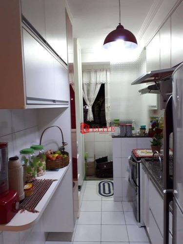 Apartamento Com 2 Dormitórios À Venda, 65 M² Por R$ 371.000,00 - Jardim América - São José Dos Campos/sp - Ap4051