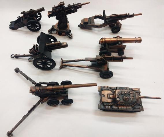 Cañones De Guerra Coleccion Metal Miniatura Sacapuntas