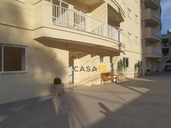 Apartamento Com 2 Dormitórios Para Alugar, 65 M² Por R$ 1.200/mês - Centro - Americana/sp - Ap0324