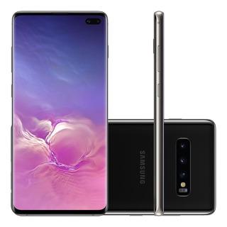 Samsung Galaxy S10+ Plus 128gb Preto Lacrado Garantia E Nf