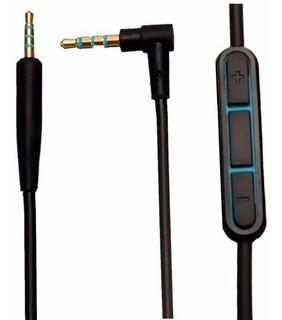 Cable Audífonos Bose Qc25 Con Microfono