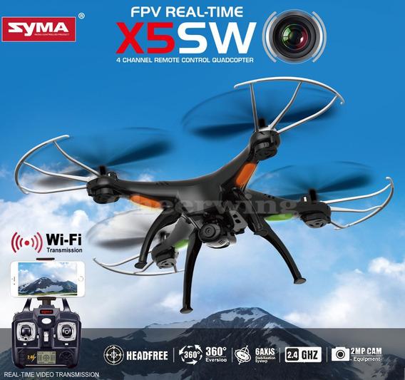 Promoção Quadricoptero Drone Syma X5sw Fpv Frete Grátis
