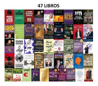 Pack 28 Libros, Riqueza, Dinero, Emprendedores