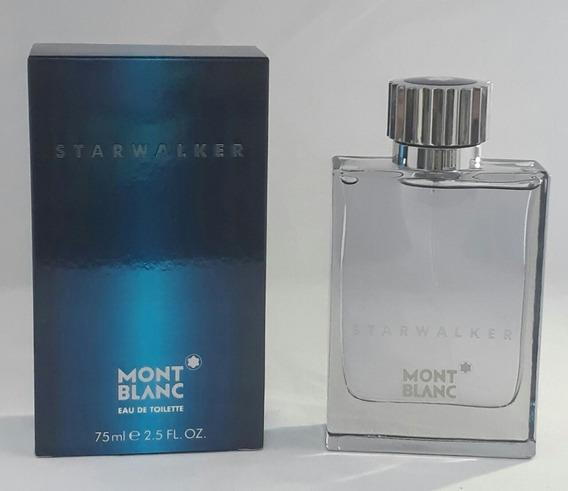 Perfume Mont Blanc Starwalker 75ml Masc Edt + Brinde Amostra