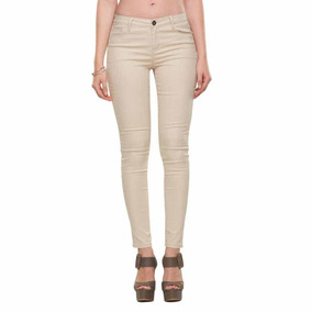 Mercado Pantalones 3 Beige Jeans Pantalon En Dama Mujer Para Y De WEDbe2YH9I