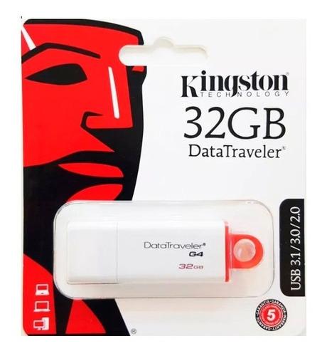 Pendrive Kingston 32gb Usb 3.1 3.0 2.0 Blister