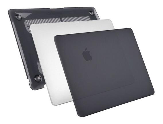 Capa Case Slim Macbook Pro 13 C/ Drive Cd A1278 Preta Fosca