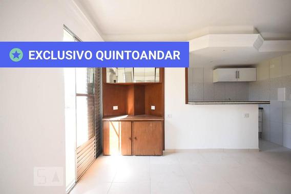 Apartamento No 1º Andar Com 1 Dormitório E 1 Garagem - Id: 892972218 - 272218