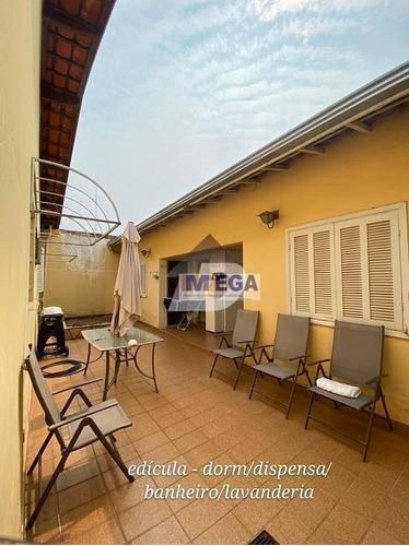 Casa À Venda, 199 M² Por R$ 549.999,99 - Jardim Proença - Campinas/sp - Ca2137