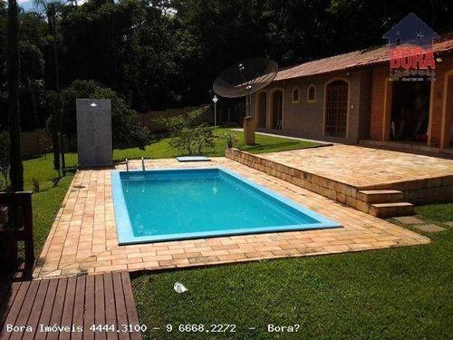 Chácara Residencial À Venda, Vale Dos Pinheiros, Atibaia. - Ch0160