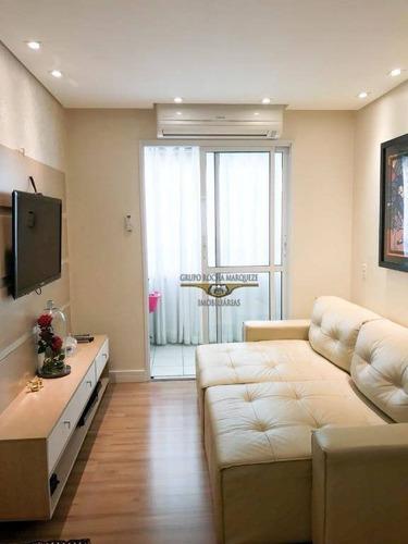 Imagem 1 de 30 de Cobertura Com 3 Dormitórios À Venda, 122 M² Por R$ 900.000,00 - Tatuapé - São Paulo/sp - Co0051