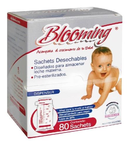 Blooming Bolsas Sachets Leche Materna X 80 Unidades