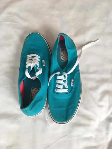 Vans Tenis Para Dama 27 Mex Azul