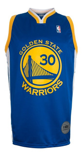 Camiseta De Basquet Golden State Warriors Curry Nba Basket